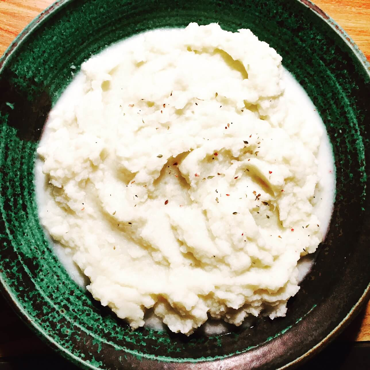 Cauliflower Turnip Mash