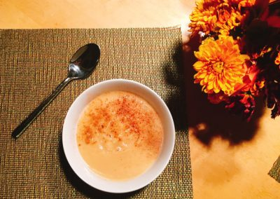 Parsnip and Pear Soup