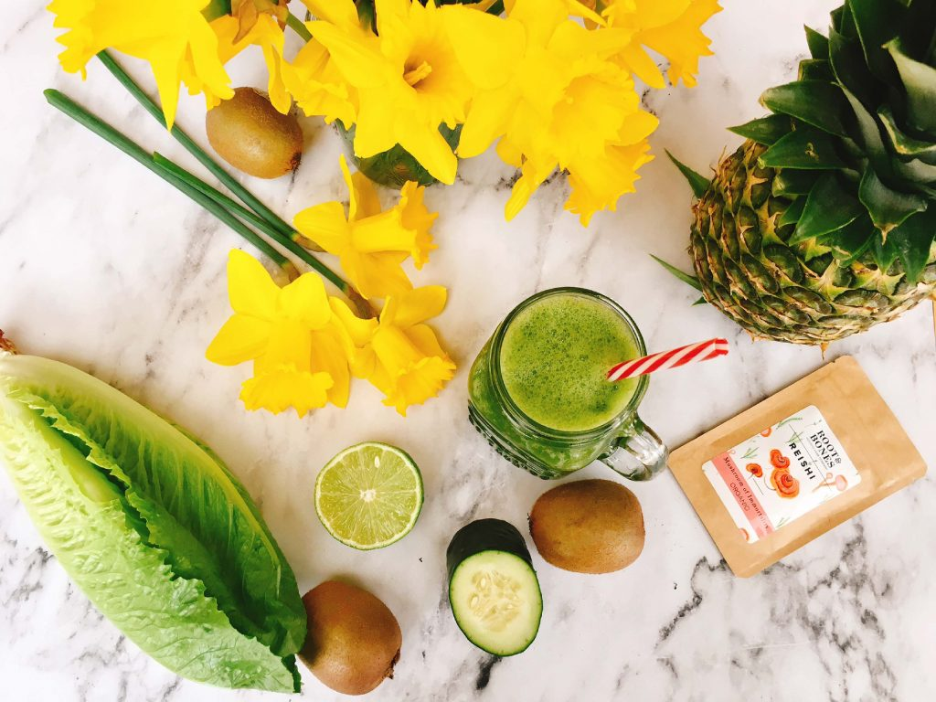 Hydrating Green Smoothie | Nourished Body and Mind