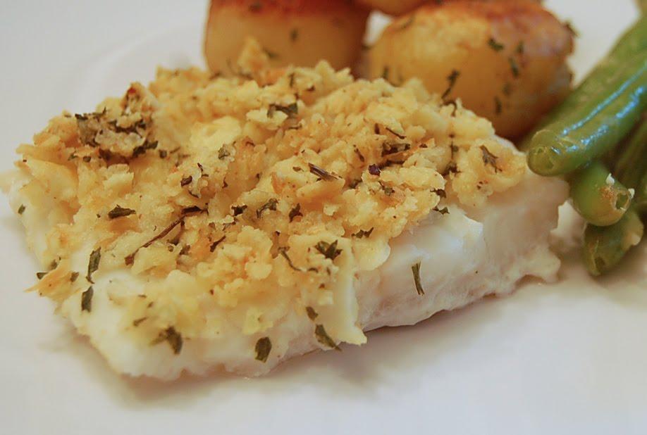 Cashew Crusted Cod