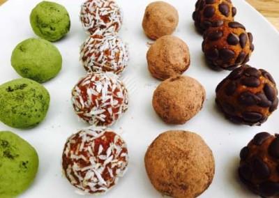Raw Almond Truffles