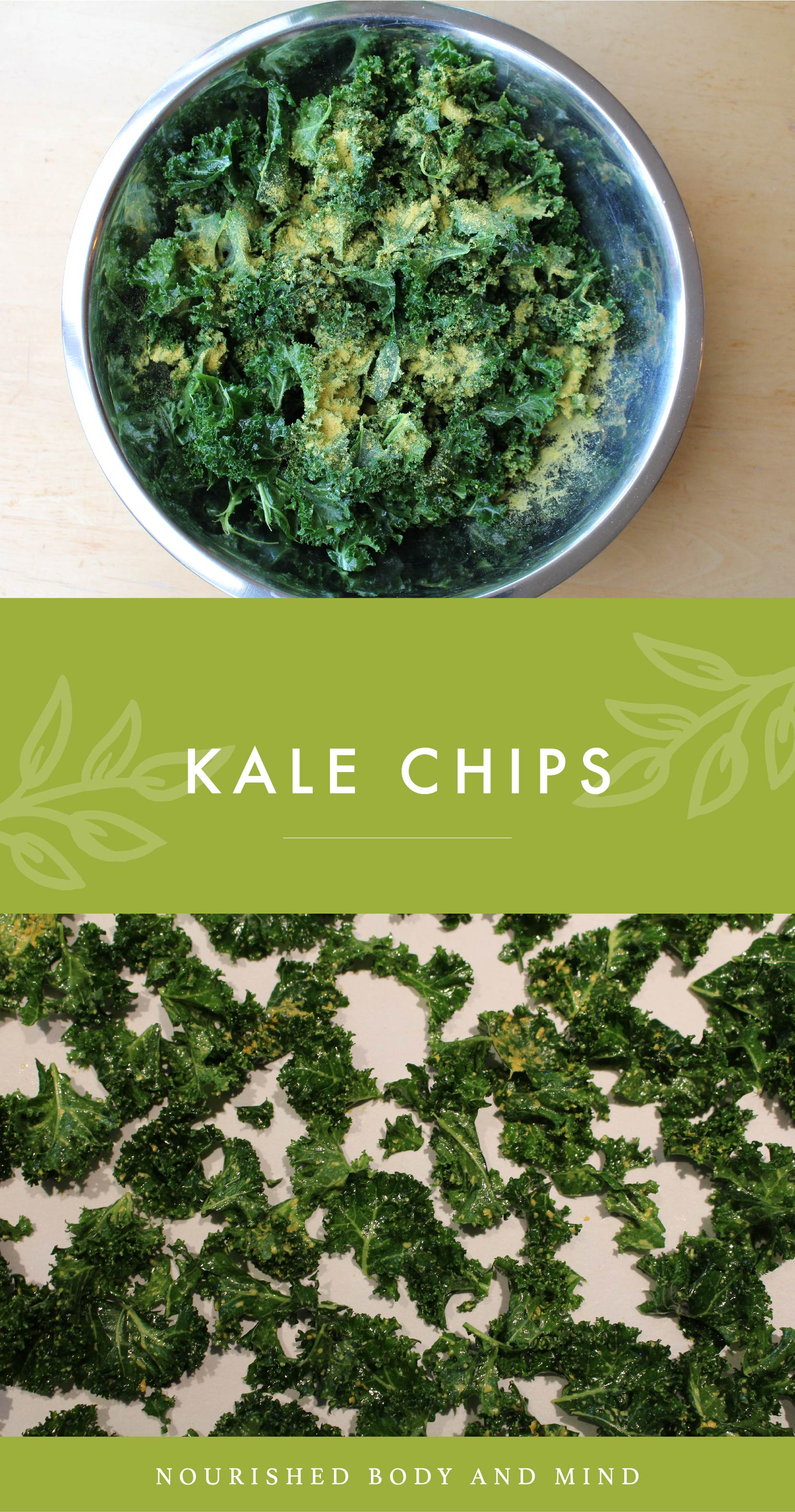 Kale Chips_Nourished Body and Mind - Joanne Schneider