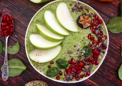 Super Green Apple Smoothie Bowl