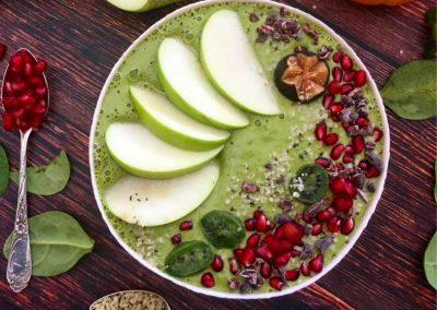 Super Green Apple Smoothie Bowl
