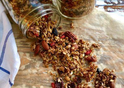 Spiced CrunchyGranola