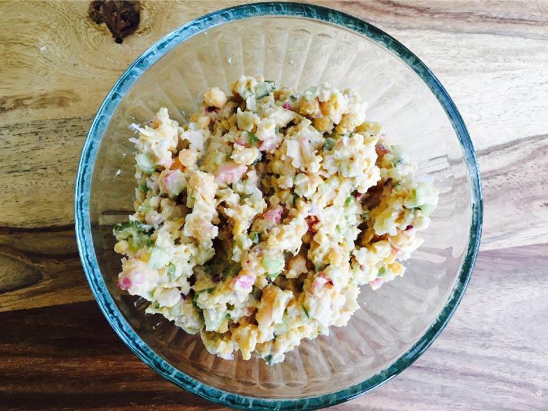 Chickpea 'Un-Tuna' Salad