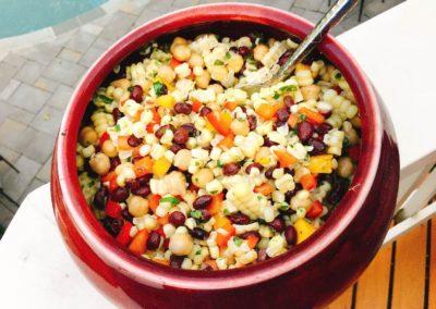 Corn, Bean and Mango Salad