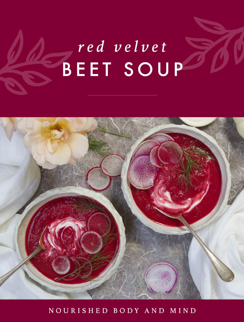 Red Velvet Beet Soup
