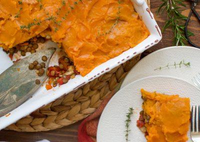 Sweet Potato Topped Shepard's Pie