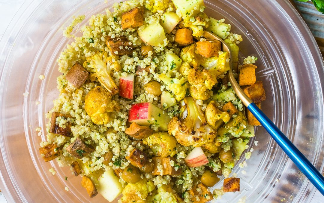 Quinoa Salad with Herby Lemon Dressing