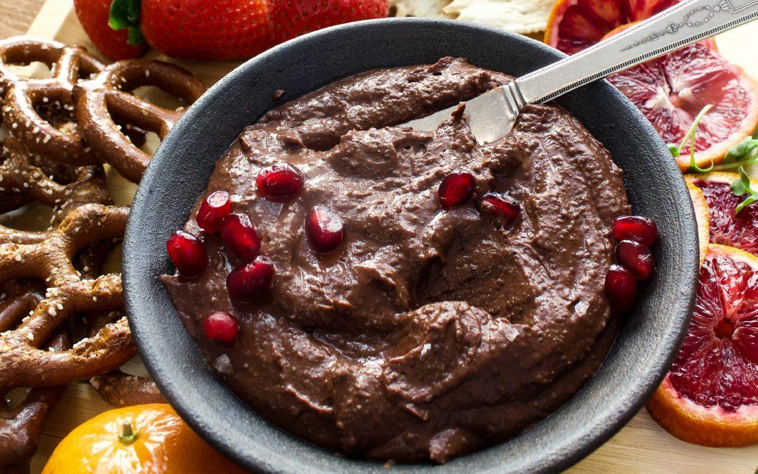 "Spiced Chocolate ""Hummus"""