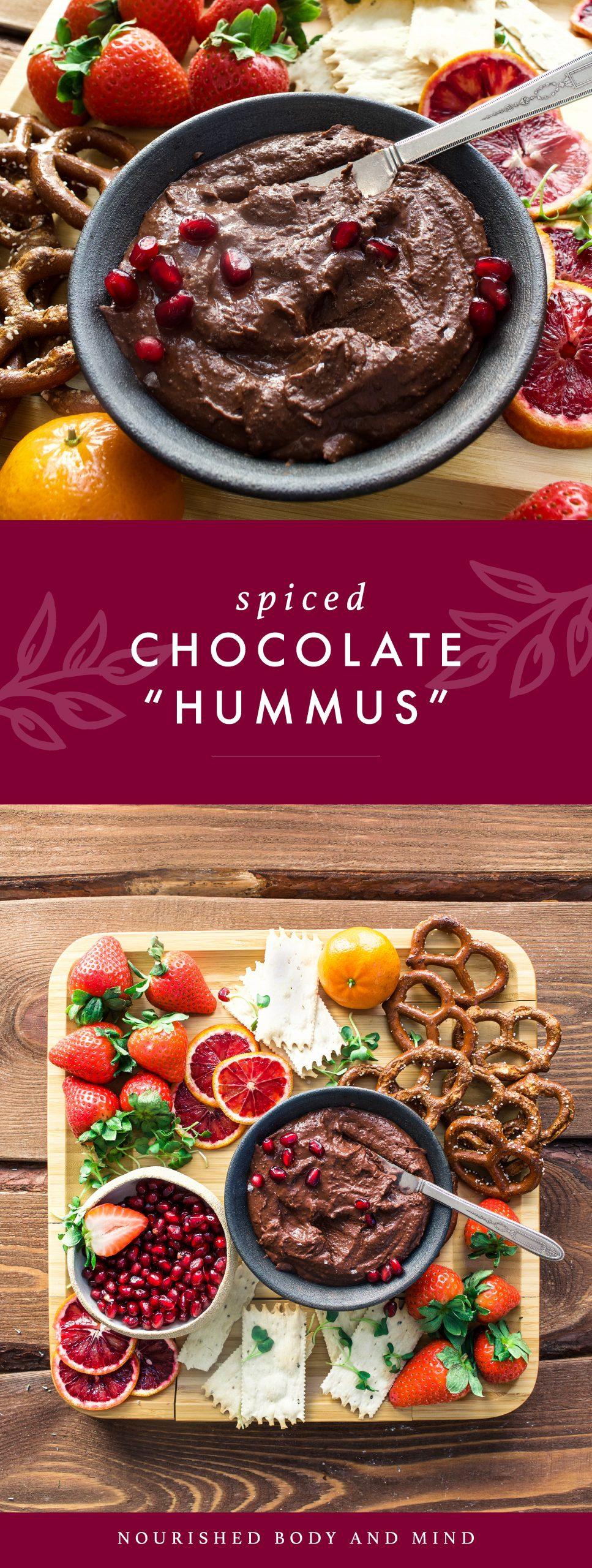 Spiced Chocolate Hummus